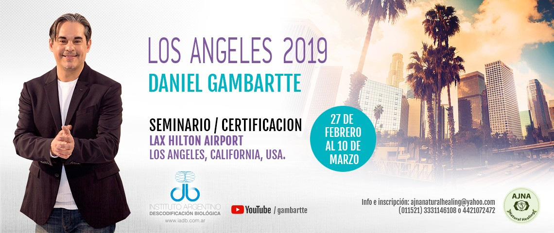 CERTIFICACION - IADB 2019, LAX HILTON AIRPORT, LOS ANGELES, CALIFORNIA, USA